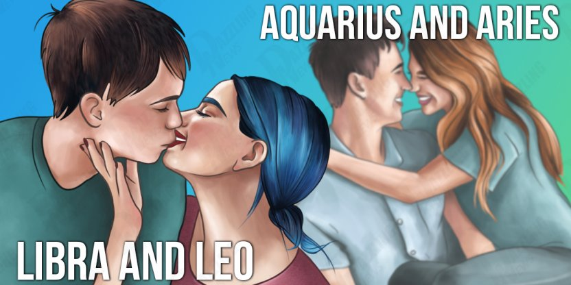 10 Zodiac combinations that make the most stable and prosperous couples...