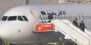Libyan airplane hijacked with 118 people onboard