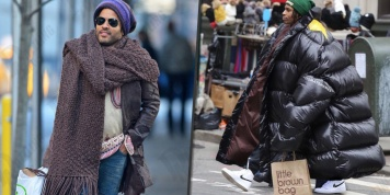 Giant clothing is fashionable but these celebrities are taking it to the extreme. It's already a trend...
