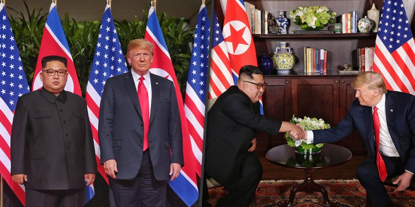 Science fiction summit of Kim Jong Un and Donald Trump has turned into reality!