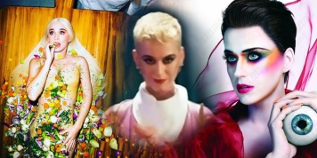 Katy Perry eats human flesh with other artists???