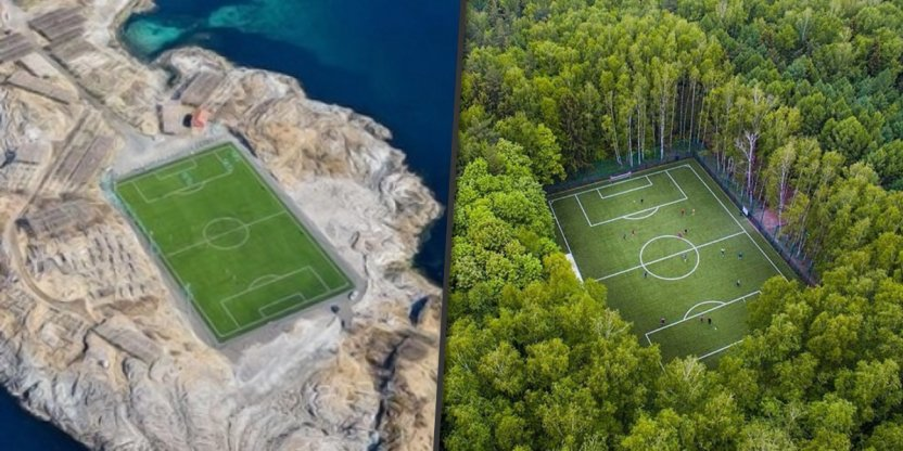 7 Strangest football stadiums in the world...