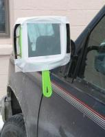 10. A very modern mirror for the car...