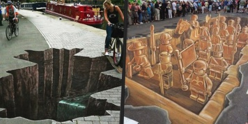 15 extraordinary 3D works of the streets that will impress you