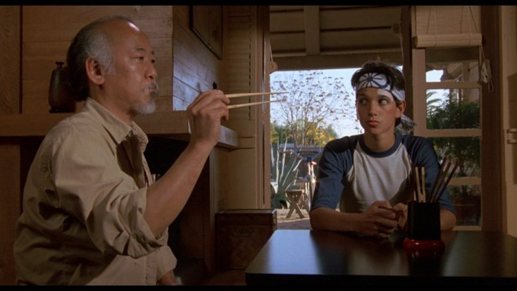 The main characters of Karate Kid today 2