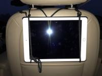 8. TV in the car