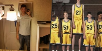 Fun images in which tall people recognize themselves...