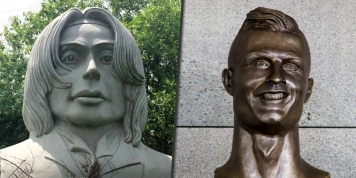 Worst celebrity statues that really exist