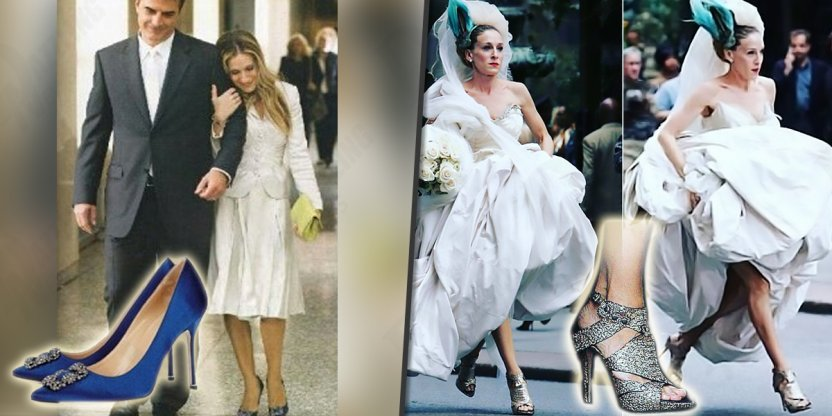 Most outrageous shoe looks of Carrie Bradshaw