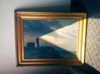 12. The light that comes through the window seems to be caused by the lighthouse…