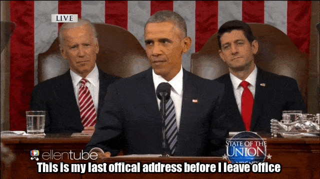 President Obama's last speech to the Congress