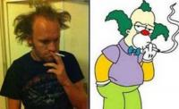 14. Krusty, the clown ...