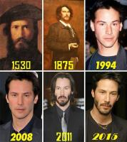 3. Keanu Reeves has lived from generation to generation and still looks the same…