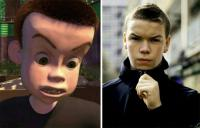 9. Sid from Toy Story entered the University...