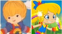 4. Rainbow Brite from 1987 and 2015... Much difference?