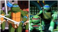 5. The Ninga Turtles in 1987 and 2017...