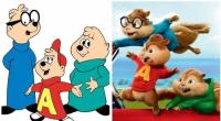 13. Alvin and the Chipmunks in 1961 and 2015