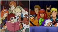15. Scooby-Doo! Mystery Incorporated in 1969 and 2013... Here is the only case when characters became younger!