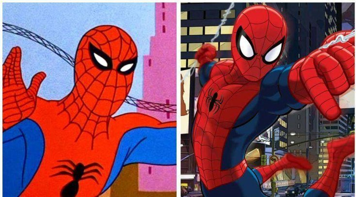 1. The evolution of Spiderman has been spectacular 1