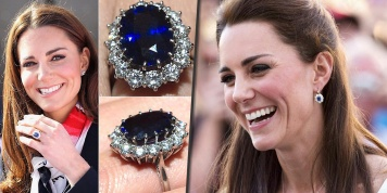 Gorgeous pieces of Jewellery Kate Middleton received from the Royal Family