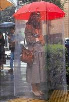 10. A full-body umbrella...