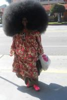 15. I wanted to have the biggest hair in the world…