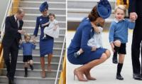 7. Breaking the protocol rule of the Royal Family aircraft