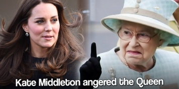 Kate Middleton infuriates the Queen by breaking the important rules