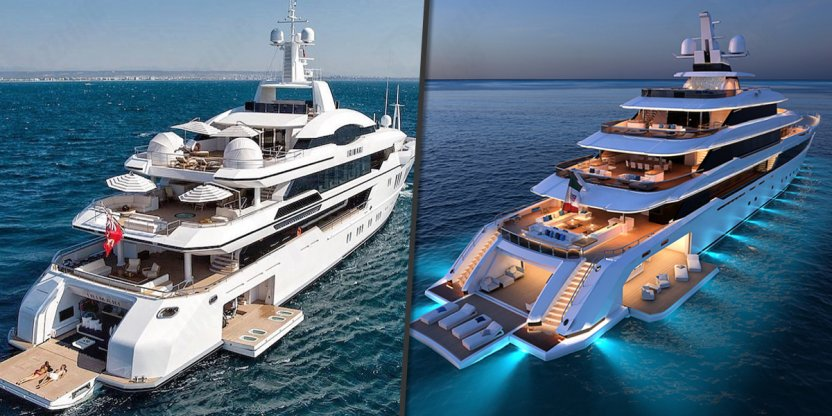 Most expensive superyachts in the world