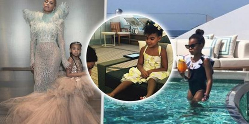 Blue Ivy, Beyonce's daughter has a life full of extravagant luxuries