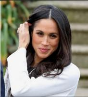 9. Behind the cameras, there was only Meghan and her film crewmates