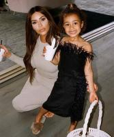 Kim Kardashian doesn't eat at the same table as her daughter 3