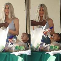 Kim Kardashian doesn't eat at the same table as her daughter 10
