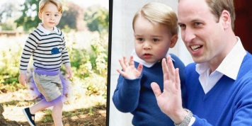 Why is Prince George always wearing shorts?