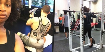 Strange and funny situations that can only be seen at the gym