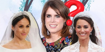 Why Princess Eugenie cannot wear a tiara like Meghan Markle and Kate Middleton