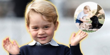 The photo of Prince George that caused a storm on the network