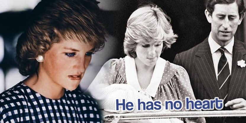 The cruel words of Prince Charles to Princess Diana when she just gave birth
