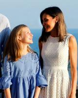 What did King Philip VI say while Letizia and Sofia argued? 12
