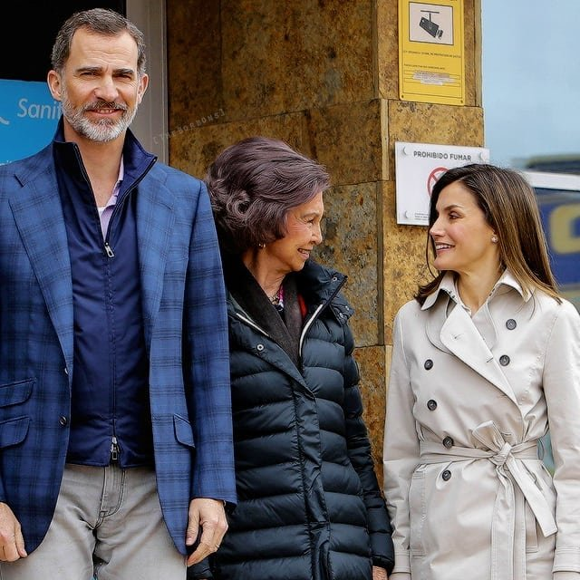 What did King Philip VI say while Letizia and Sofia argued? 1