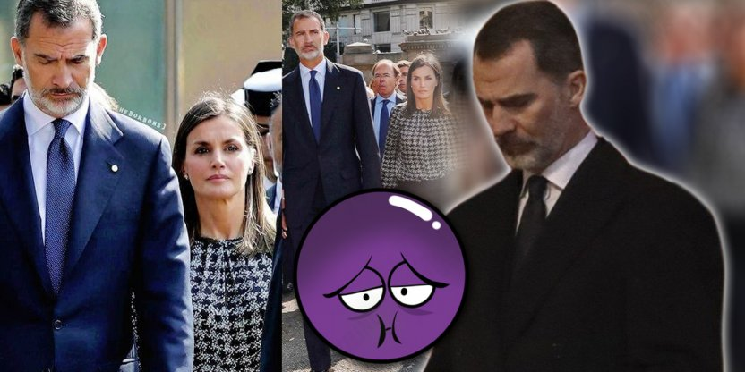What did King Philip VI say while Letizia and Sofia argued?
