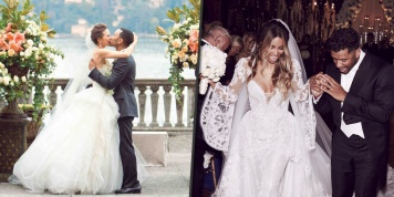 Most gorgeous celebrity wedding dresses