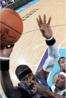 7. This basketball player snatched his opponent's nose