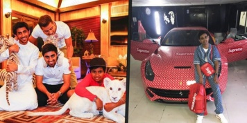 How the richest young man in Dubai lives