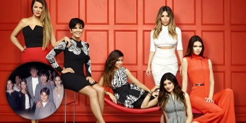 "Photos of the Kardashian family before being ""rich and hot"""