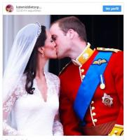 The difference between the wedding kisses of Kate Middleton, Meghan Markle and Princess Eugenie 6