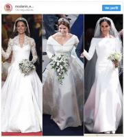 The difference between the wedding kisses of Kate Middleton, Meghan Markle and Princess Eugenie 15