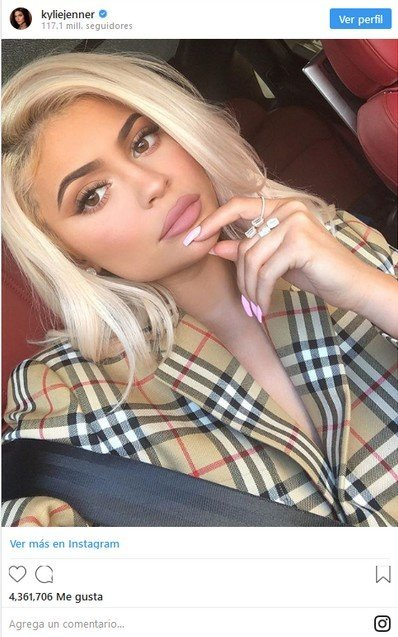 1. Kylie Jenner is one of the young promises 1