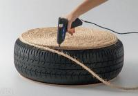 He screwed a piece of wood to an old tire. Discover the phenomenal result … 7
