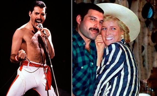 Freddie Mercury and Lady Di: All about their intimate friendship 2